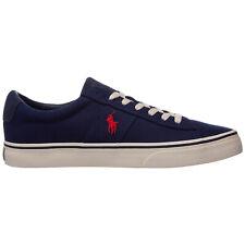 Polo Ralph Lauren sneakers men sayer 799508003 Blue lagoon cotton logo detail