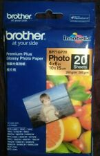 Brother GENUINE Premium Plus Glossy Photo Paper 10x15cm 260gsm Pk of 20 BP71GP20
