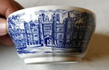 Unboxed Earthenware Blue Staffordshire Pottery