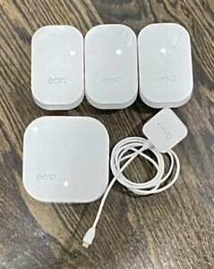 eero Pro 2nd Generation Wi-Fi System B010001 Tri-Band Mesh Router 3 Beacons