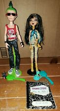 Monster High First Wave Cleo De Nile And Deuce Gorgon With Pets