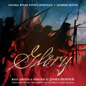 Glory - 2 x CD Complete Score - Limited 5000 - James Horner