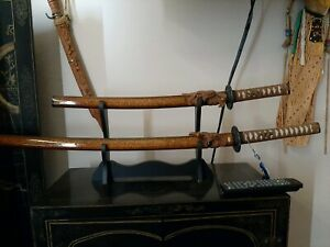 Replica samurai sword x 2 different lengths