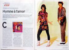 L'Express 2014: RITA MITSOUKO_BERNARD LAVILLIERS_LA PLANETE DES SINGES