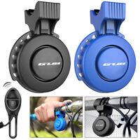Waterproof Electric Bicycle Bell Bike Loud Horn USB Rechargeable Siren Bicycle