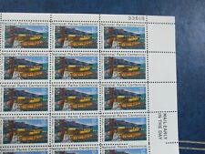 Wolf Trap Farm National Park for the Performing Arts USPS plate block   #1452