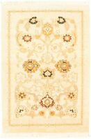 """Modern Hand-Knotted Carpet 2'7"""" x 4'2"""" Oriental Wool Area Rug"""