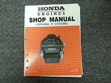 Honda Models GXV610K1 GXV620K1 V-Twin Engine Shop Service Repair Manual 61ZJ410