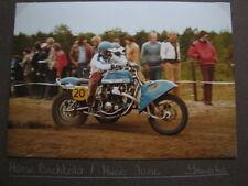 Photo Yamaha EML #20 Bächtold / Jung Int. Sidecar Cross Lochem (NED) 1980