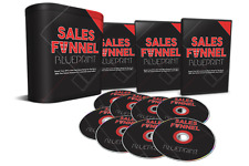 8 Part Video Tutorials Sales Funnel Blueprint PLR Internet Marketing