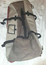 Vintage 80s 90s Burton Snowboards Oversized Duffle Bag With Wheels Luggage