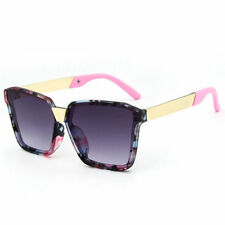 LE Kids Korean Floral Sunglasses Baby Girls Colored Sun Glasses Polygon Square