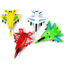 Plastic Puzzle Military Airplane Fighter Pull Back Plane Model Kids Gift Toys GT