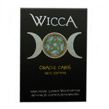 Wicca Oracle by Lunaea Wheaterstone 32 Inspirational Cards with Guidebook