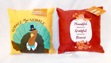 Kohl's Celebrate Fall Thankful Grateful Blessed Turkey Gobble Til You Wobble Ve