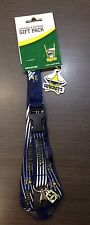 23002 NORTH QUEENSLAND COWBOYS NRL RUGBY LEAGUE LANYARD & KEYRING KEY RING