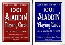 1001 Aladdin Dome Back 2 Deck Set Playing Cards Poker Size USPCC Air-Cushion New