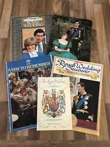 Vintage 1981 Royal Wedding Memorabilia - Official Souvenir Magazines - Programme
