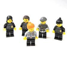 LEGO® City 5 Figuren Frau Polizistin Dieb Polizeistaffel Minifiguren Polizei