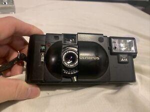 Olympus XA Film Camera w/A11 Flash