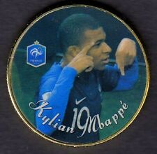 ●● MEDAILLE PLAQUéE OR : KYLIAN MBAPPE PSG  ●● G150