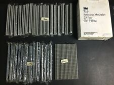 3M 710 Splicing Modules -Gel Filled 3M710-TC1-25 -(17 of 25) FREE EXPEDITED SHIP