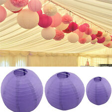 "Mixed 8""10""12"" Colorful Paper Lanterns Wedding Party Hanging Decorations"