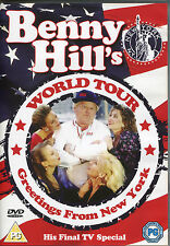 BENNY HILL'S WORLD TOUR DVD GREETINGS FROM NEW YORK - HIS FINAL TV SPECIAL