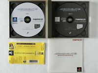 ACE COMBAT 3 Electrosphere PS1 NAMCO Sony Playstation Spine From Japan