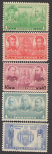 US. 790-794.  Navy Issue. Set of 5. MNH. 1936-37