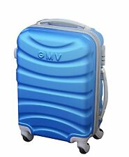 Maleta Gian marco Venturi cabina 50 cm ABS ligero Cáscara dura 4 (azul)