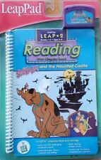 2001 Leapfrog Leap 2 Reading Scooby-Do And The Haunted Castle Book & Cartridge