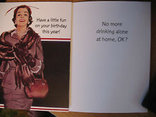 """Funny Comedy Humor Adult Birthday Card """"Have A Little Fun On Your Birthday ..."""""""