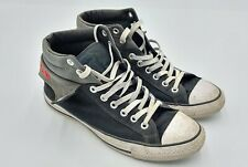 Converse Mens Size 10 Chuck Taylor All Star Fold Mid-Top Charcoal Casual 139638F