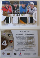 2008-09 UD The CUP Kovalchuk Fedorov Ovechkin Malkin 3/5 SICK quads patch RUSSIA