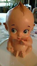 Vintage Lefton #3631 Kewpie Doll Planter