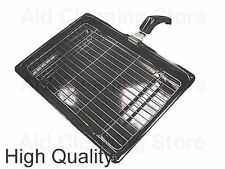 UNIVERSAL Small Oven Cooker Grill Pan Tray With Handle & Rack