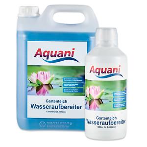 Aquani Wasseraufbereiter Teich Teichpflege für den Koi und Gartenteich