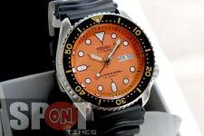 Seiko Automatic 200m Diver Rubber Strap Men's Watch SKX011J1