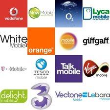 BULK SIM CARDS - EE,  VODAFONE, VECTONE, GIFFGAFF, VIRGIN, LEBARA, LYCA, O2, ETC