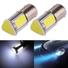 2Pc×1157 BAY15D 4COB 42 SMD LED 6000K Car Parking Backup Tail Lights Bulbs White