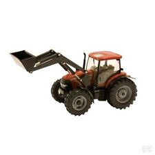 Britains Case IH Maxxum Model Tractor With Front Loader 1:32 Scale 3+