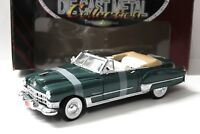 1:18 Road Signature Cadillac Coupe DeVille 1949 green NEW bei PREMIUM-MODELCARS