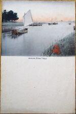 Arakawa River, Tokyo, Japan - 1900 Menu Blank/Note Paper