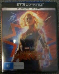 Captain Marvel 4K Ultra HD + Blu-ray Region B NEW & SEALED