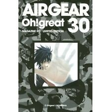 Air Gear #30 Manga Japanese Limited Edition / Oh! Great w/DVD