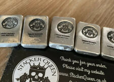 1 Ounce Chunky (.999) Silver StackerQueen Bullion Bar Solid Silver ingot