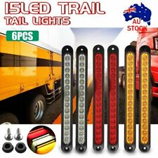6X Tray Back Ute 15LED Trail Tail Lights For MAZDA TOYOTA ISUZU HILUX MITSUBIS