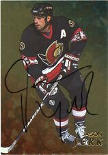 98-99 BE A PLAYER BAP SIGNATURE AUTOGRAPH AUTO GOLD JASON YORK SENATORS *35303
