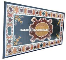 Pietradura Marble Dining Table Top Indoor Hallway Furniture Inlay Art Decor M324